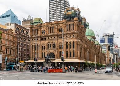Sydney, New South Wales, Australia . December 15 2017: Queen Victoria Building