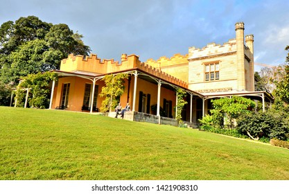 Sydney, New South Wales / Australia - June 2nd 2019: Vaucluse House is a 19th century manor home located in the Sydney suburb of Vaucluse and is a popular venue for special events such as weddings.