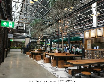 Sydney, New South Wales / Australia - 12 October 2017: Tramsheds shopping mall in Sydney, Australia