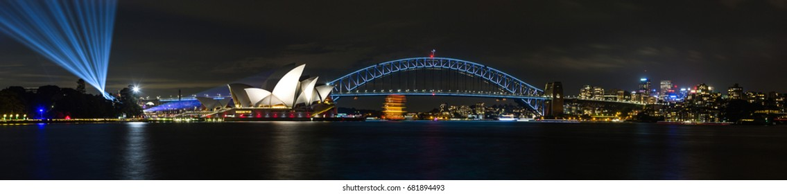Sydney at night, Australia.