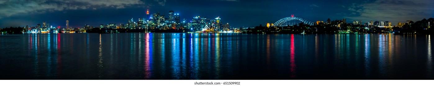 Sydney Night Time