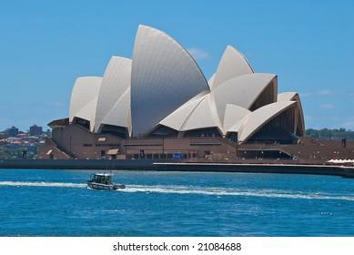 SYDNEY, November 11, 2008: The Sydney Opera House, NSW, Australia