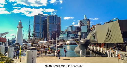 "Sydney, NSW Australia – August 21,2018: ""Australia Study Tour"" Australian Nationnal Maritime Museum."