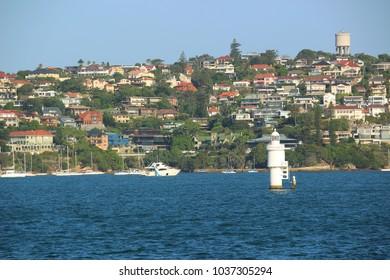 Sydney, NSW / Australia - Jan 6, 2018 View of Vaucluse suburb