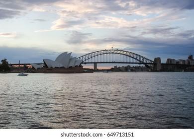 SYDNEY, NSW, AUSTRALIA - OCTOBER 15, 2015: Sydney Opera House