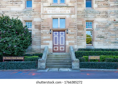 Sydney NSW Australia - September 20th 2019 - Holy Cross College Facade on a sunny spring afternoon