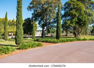 Sydney NSW Australia - September 20th 2019 - Holy Cross College Garden on a sunny spring afternoon