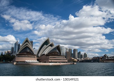 SYDNEY, NSW/AUSTRALIA-JUNE 29 : Opera house on July 29, 2009. This building is the landmark of Sydney city and Australia located in Sydney harbour.