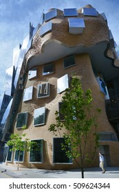 SYDNEY - OCT 20 2016:Dr Chau Chak Wing Building in  Sydney, Australia. It is the first building in Australia designed by Canadian American architect Frank Gehry.