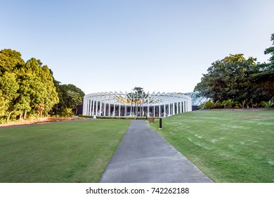 SYDNEY - October 12: The Calyx in Sydney Royal Botanic Garden on  October 12, 2017 in Sydney, Australia.