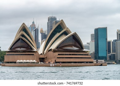 SYDNEY - OCTOBER 2015: View of Opera House. Sydney attracts 15 million people annually.