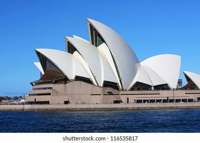 SYDNEY - OCTOBER 3: The Sydney Harbour Bridge in Sydney, Australia on October 3, 2008. It was designed by Danish architect Jorn Utzon