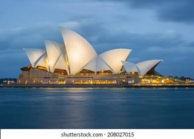 Sydney Opera House Sydney Australia circa 2012