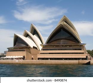 Sydney Opera House in Sydney Harbor, Australia