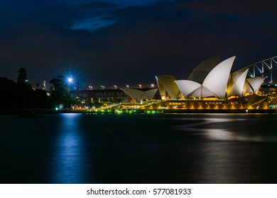 Sydney Opera house, January 17th A nighttime shoot of Sydney's iconic opera house. which features live events, restaurants and the opera bar. 17/01/2017