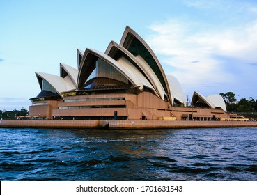 Sydney Opera House picture taken from a boat near it 14 February 2020 Sydney Australia