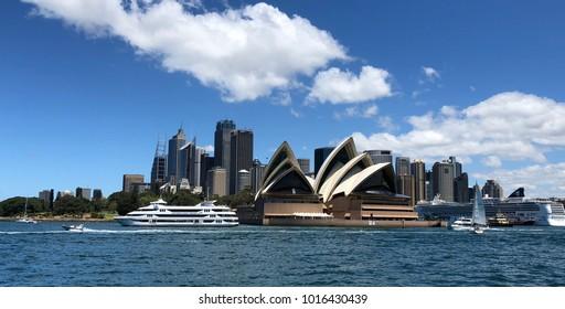 Sydney skyline, Sydney Australia, November 2017