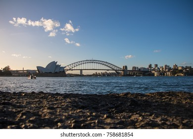 Sydney Skyline and Harbour before Dusk