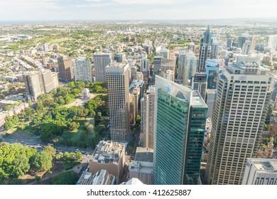 Sydney skyline - New South Wales.
