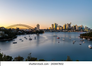 Sydney Sunrise at Waverton, Sydney, Australia