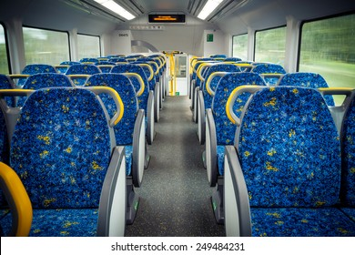 Sydney train wagon interior