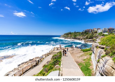 Sydney's Bondi to Coogee Beach Coastal Walk takes in some spectacular views and is a must see highlight for any tourist.