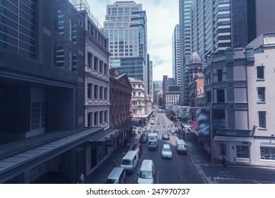 Sydney's urban construction and transportation