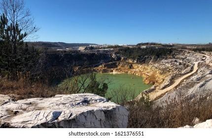 Sylacauga Alabama White Marble Quarry