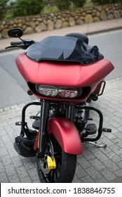 SYLT GERMANY - April.12.2018 - Harley Davidson motorcycle meeting at Castellar del Vallés village in SYLT province