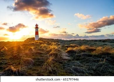 Sylt, List, Lighthouse
