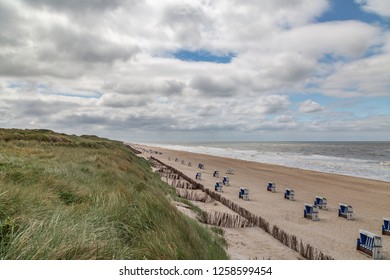 Sylt - View to Sylt Rantum Beach, Schleswig-Holstein, Germany, Sylt, 11.06.2018