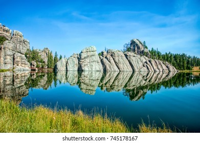 Sylvan Lake in the Black Hills of South Dakota