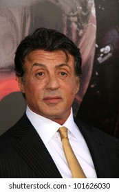 """Sylvester Stallone at the """"The Expendables"""" Film Screening, Chinese Theater, Hollywood, CA. 08--03-10"""