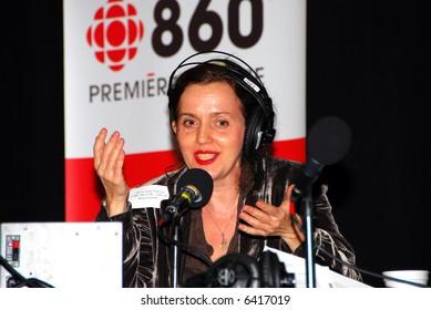 Sylvie-Anne Jeanson CJBC 860 AM Radio Canada