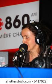 Sylvie-Anne Jeanson CJBC 860 AM Radio Canada host