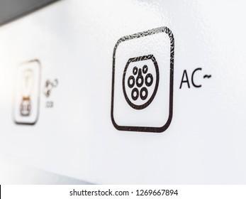 Symbol AC Electric Vehicle charging
