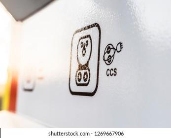 Symbol CCS Electric Vehicle charging