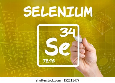 Symbol for the chemical element selenium