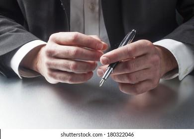 symbol of corporate business man