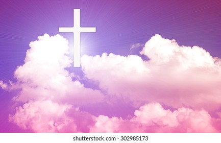 symbol of the Cross that appears in the sky