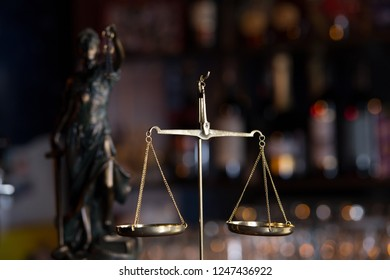 Symbol of law and justice, law and justice concept