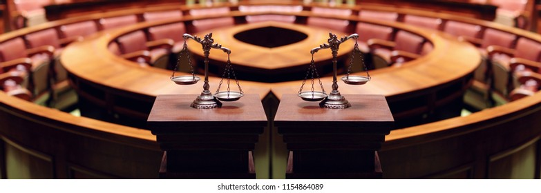 Symbol of law and justice , great for website banners.