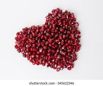 symbol of love red pomegranate