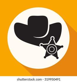 symbol of a sheriff