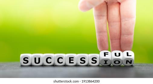 Symbol für eine erfolgreiche Nachfolge.