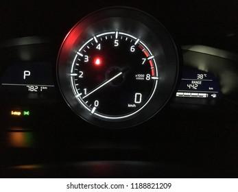 Symbols in car