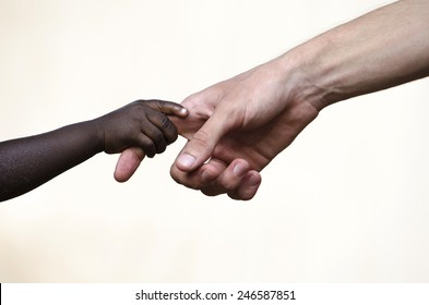Symbols of Peace: Helping Hand for African Children Togetherness
