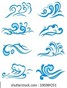Symbols waves