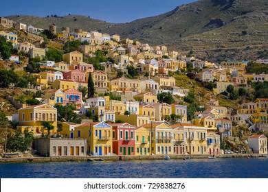 Symi island near of Rhodes