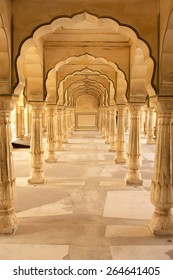 Symmetrical pillars demonstrating typical Mughal archtecture